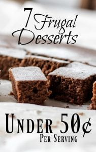 Frugal Dessert Recipes