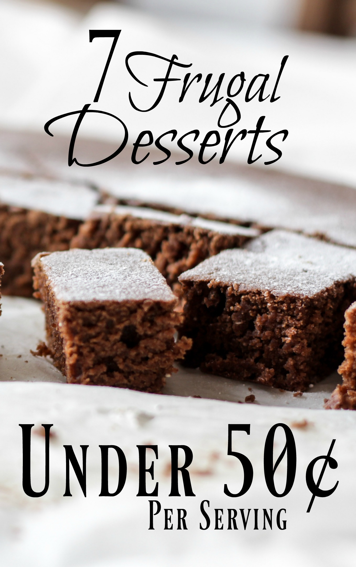 Looking for a delicious treat to make with dinner tonight but need to stick to a very tight budget? Each of these recipes is well under $0.50 per serving!
