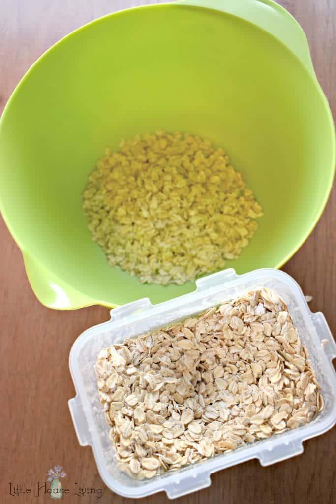 Oats for Oatmeal Bites