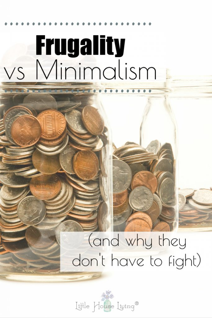 Have you considered having less stress in your life by turning to minimalism but it doesn't seem to work out with your frugal nature? Today I'm sharing my thoughts on becoming a frugal minimalist. #frugal #frugalism #Frugality #minimalist #minimalism #frugalminimalist