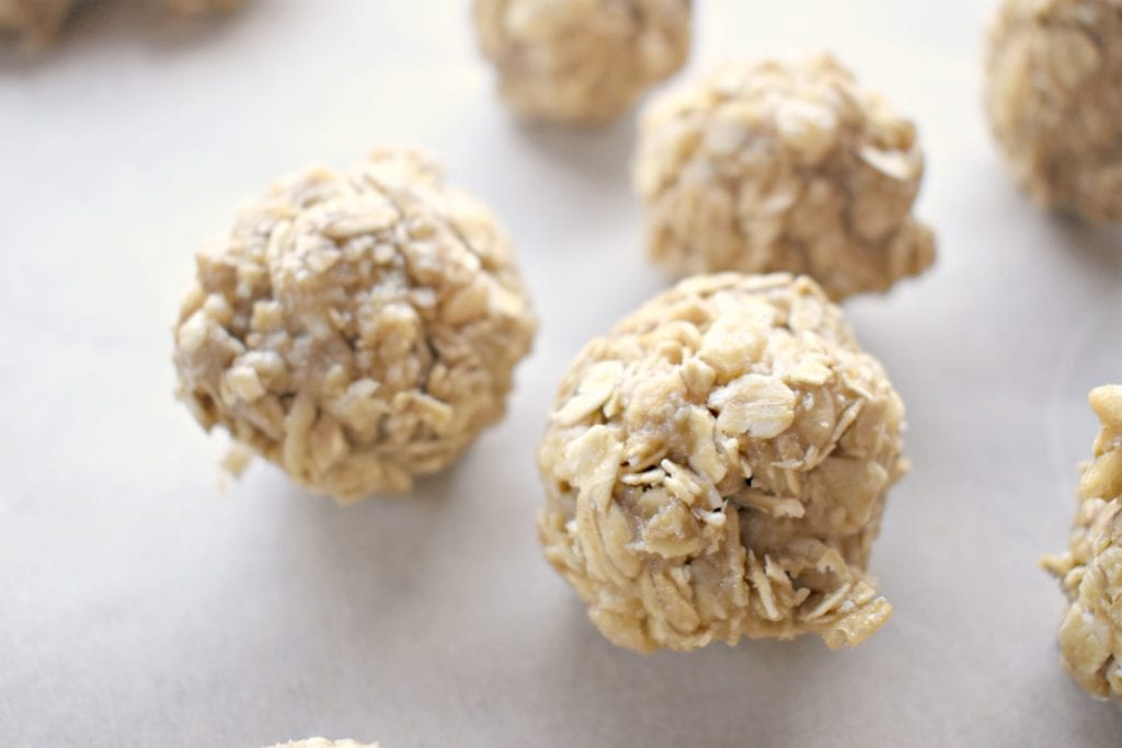 No Nut Oatmeal Bites Recipe for Kids (Plus Free Printable!)