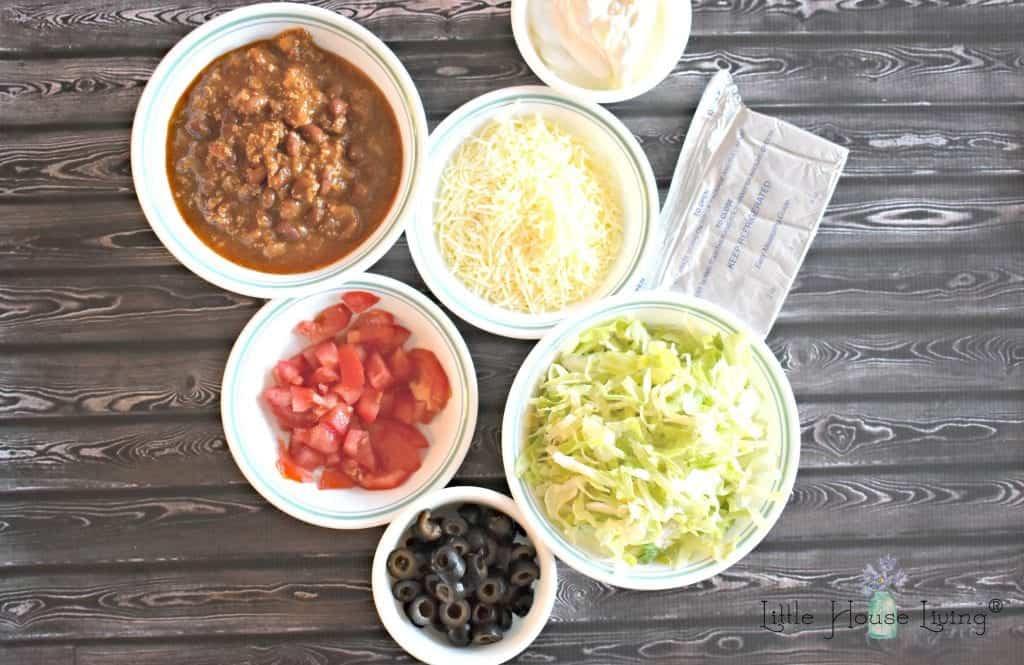 7 Layer Taco Dip Ingredients
