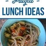 Healthy Frugal Lunch Ideas