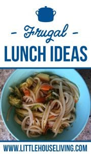 Healthy Frugal Lunch Ideas