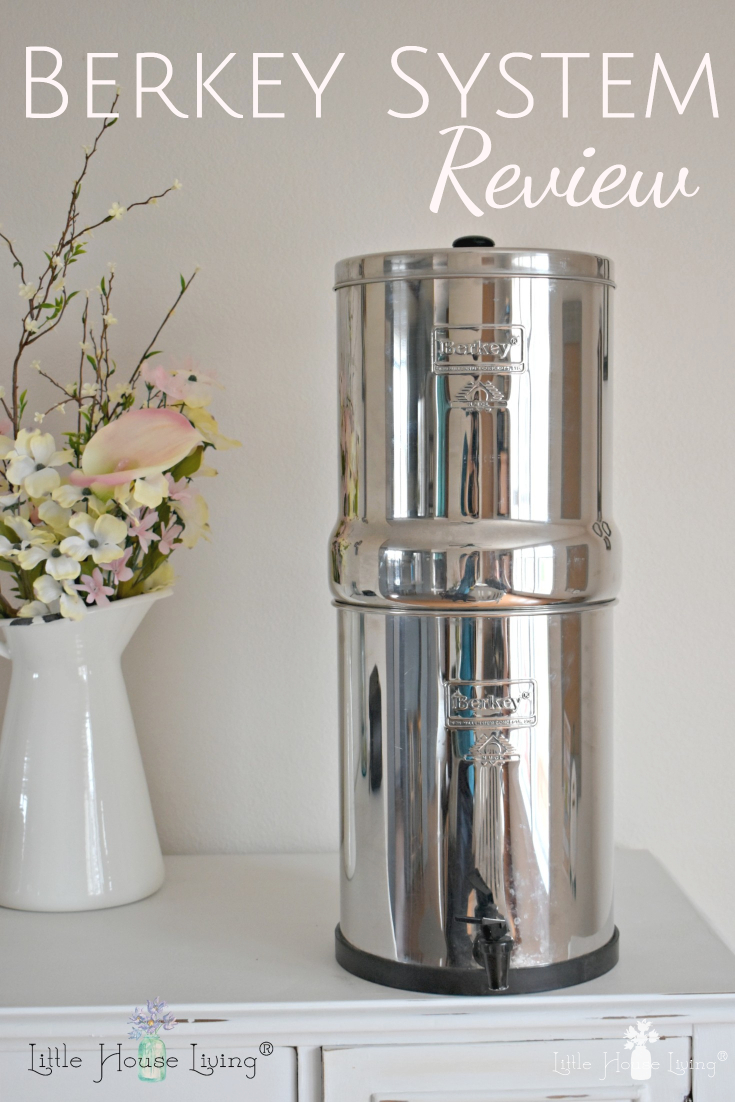 Have you ever considered getting a Berkey or are looking for a clean source of water for your home? The Berkey is an absolute must-have in my kitchen! #berkey #berkeyfilters #waterfilters #waterfiltersystem #selfsufficiency #selfsufficient #cleanwater