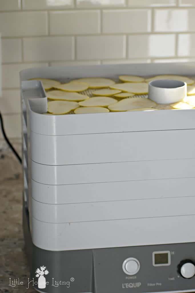 Pears in a Dehydrator