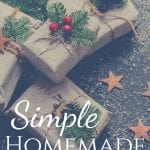Simple Homemade Gift Ideas for the Holidays
