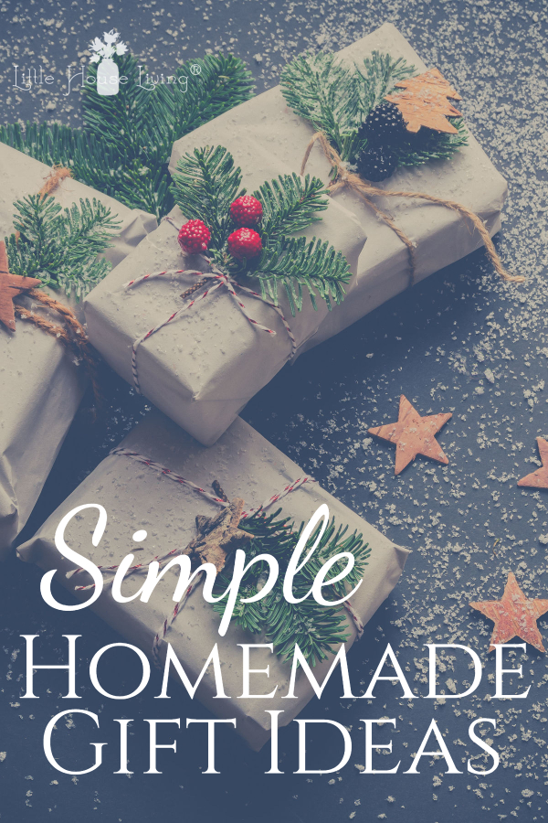 Simple Homemade Gift Ideas for the Holidays for Children and Adults