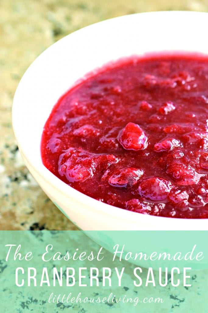 Healthy Cranberry Sauce Recipe
