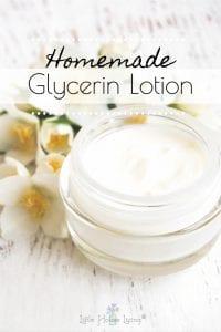 Homemade Glycerin Lotion Recipe