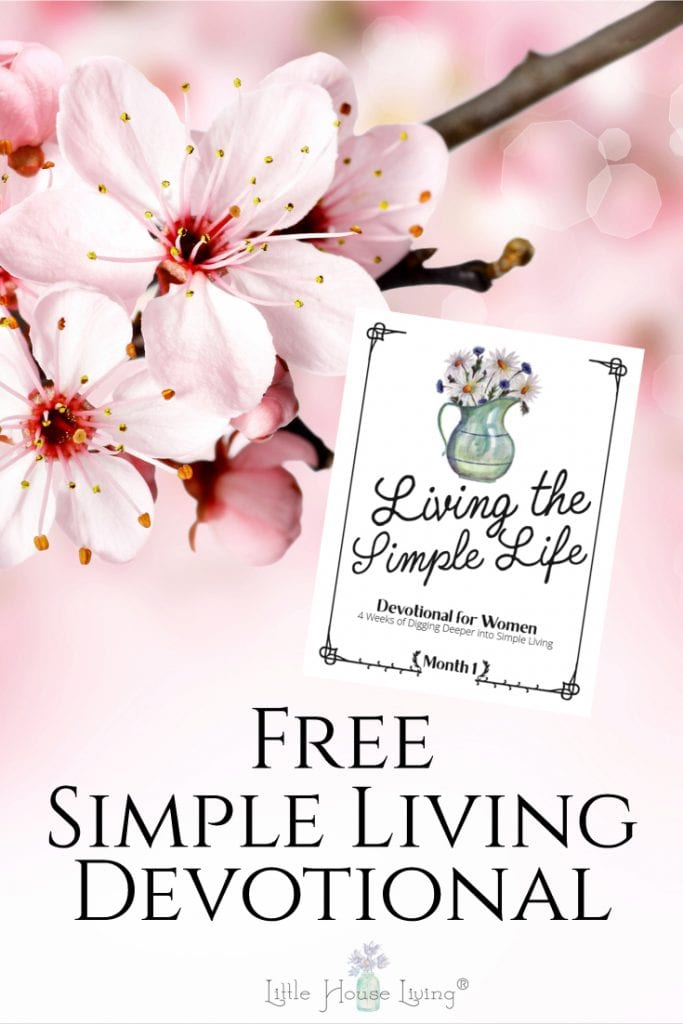 Simple Living Devotional