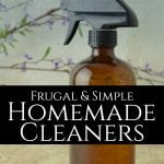 Learning how to make your own homemade cleaners is a handy and beneficial skill to have. Not only will it save you money, but you'll also know that what you're using is all-natural and safe for you and your family. #homemadecleaners #homemadecleaningsupplies