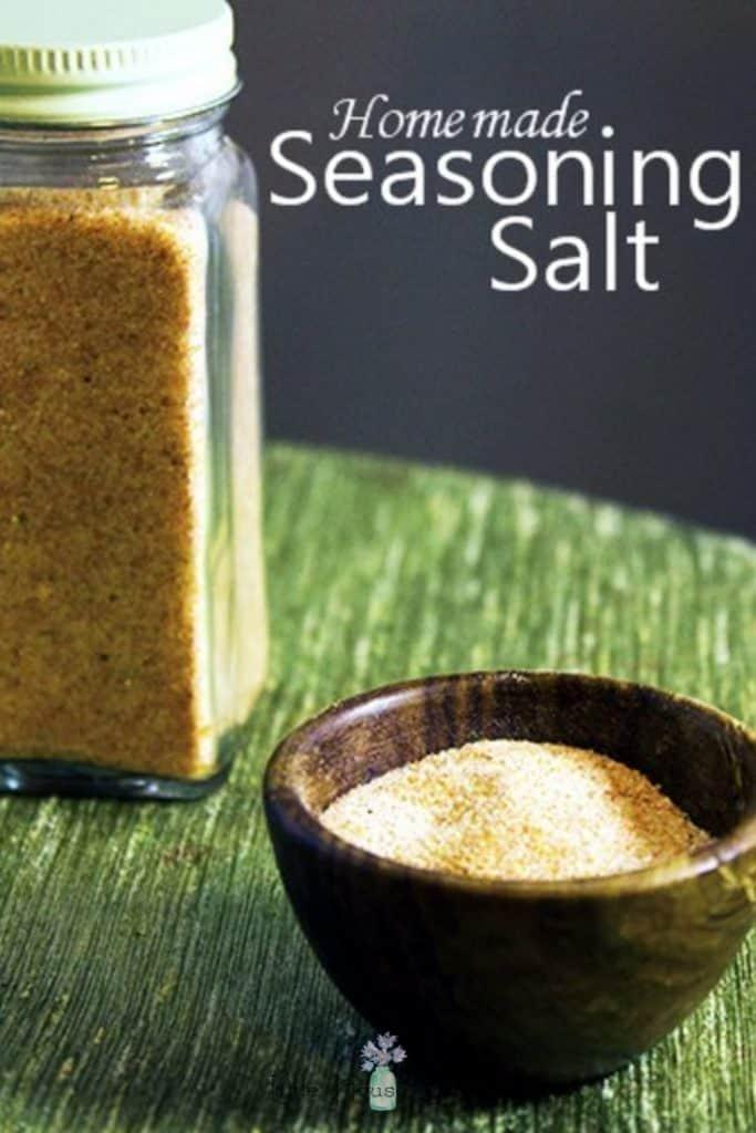 Seasoning Salt in a Bottle