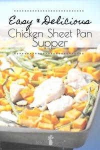 Chicken Sheet Pan Supper