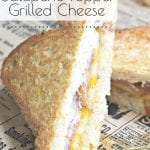 Want to make something new for lunch with your family? This Jalapeno Popper Grilled Sandwich is different and so tasty. If you have those in your family that love the mild bite of Jalapeno Poppers, they will love this meal! #jalapenopopper #baconsandwich #baconrecipes #jalapenorecipes