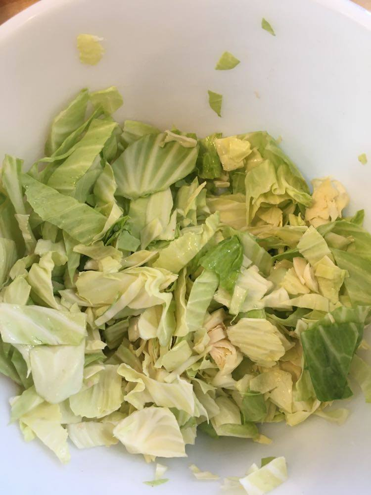 Cabbage in a bowl