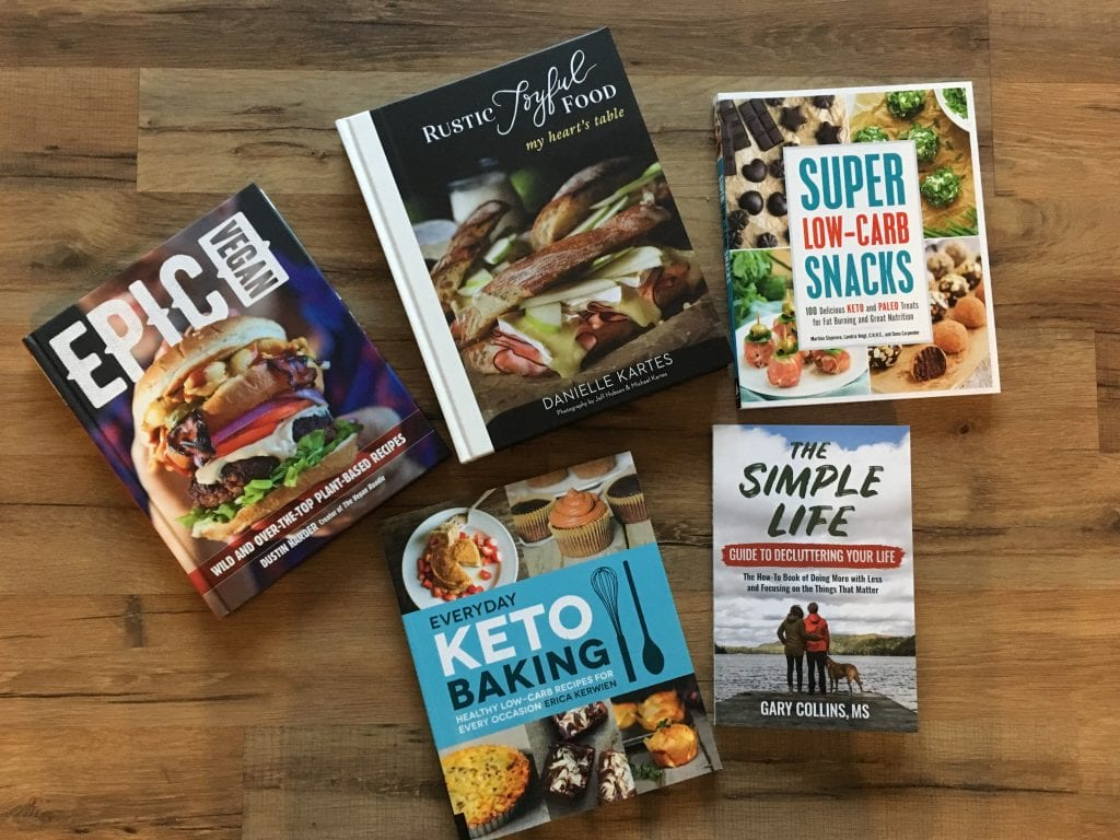 Looking for reviews on some of the latest books about home, gardens, cooking, and more? Here are my reviews on some books that arrived in my mailbox during the month of August. #bookreviews #bookgiveaway #goodreads