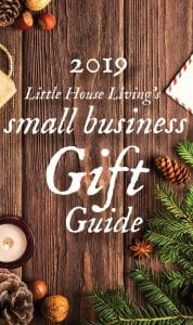 Christmas will be here before we know it! The 2019 Little House Living Gift Guide is a great way to find the perfect gift for everyone on your list! #christmas #giftideas #shopsmall #handmade #homemade #simplechristmas #christmasshopping