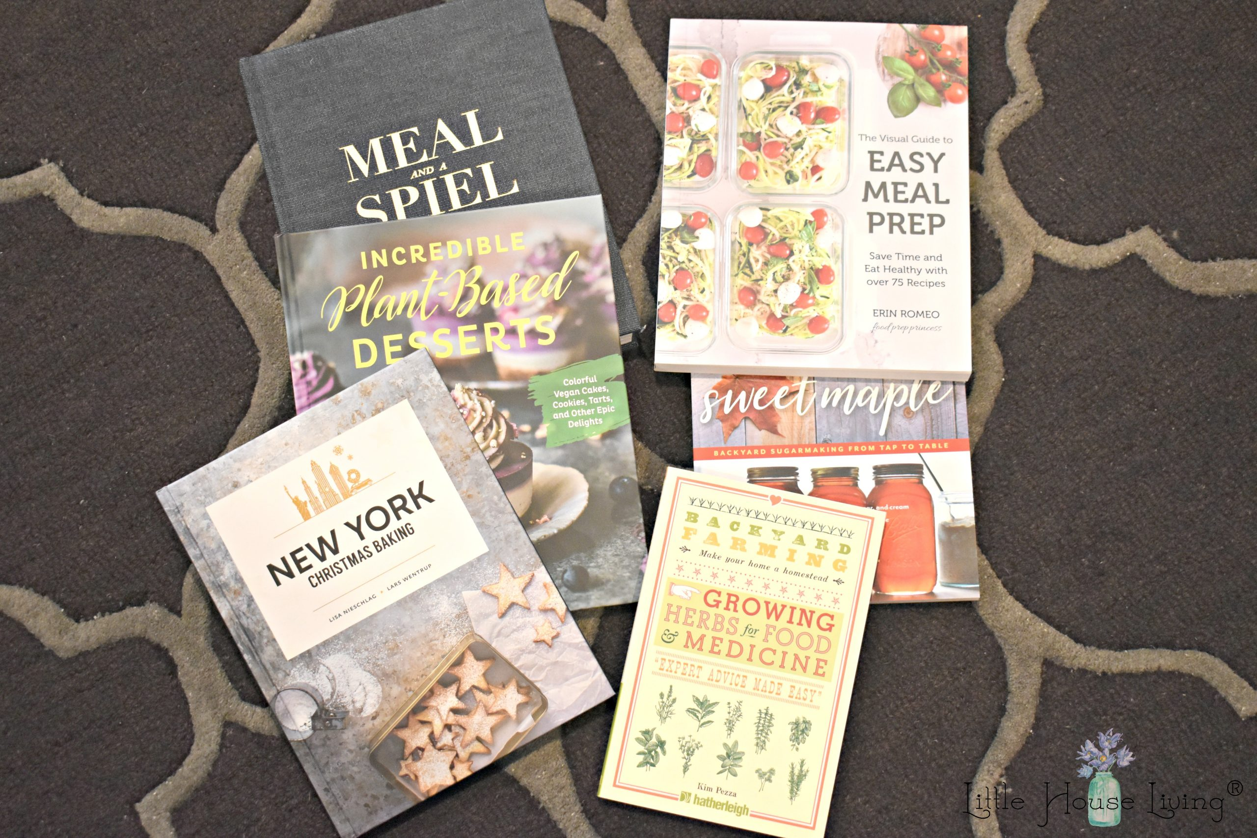 Looking for reviews on some of the latest books about home, gardens, cooking, and more? Here are my reviews on some books that arrived in my mailbox during the month of October. #bookreviews #bookgiveaway #goodreads