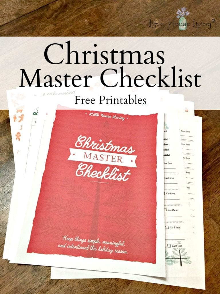 How can you keep things simple, meaningful and intentional during the holiday season? By making a detailed plan and sticking to it using the Christmas Master Checklist!! #holidayplanning #christmaslist #christmasmasterlist #makingalist #simpleChristmas #frugalChristmas