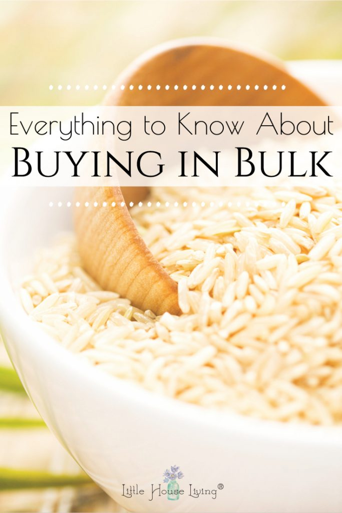 Everything you need to know to get started with buying in bulk.