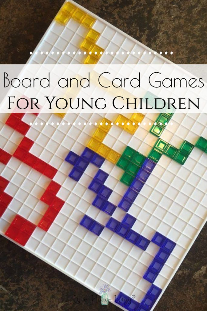 Board and Card Games for Young Children