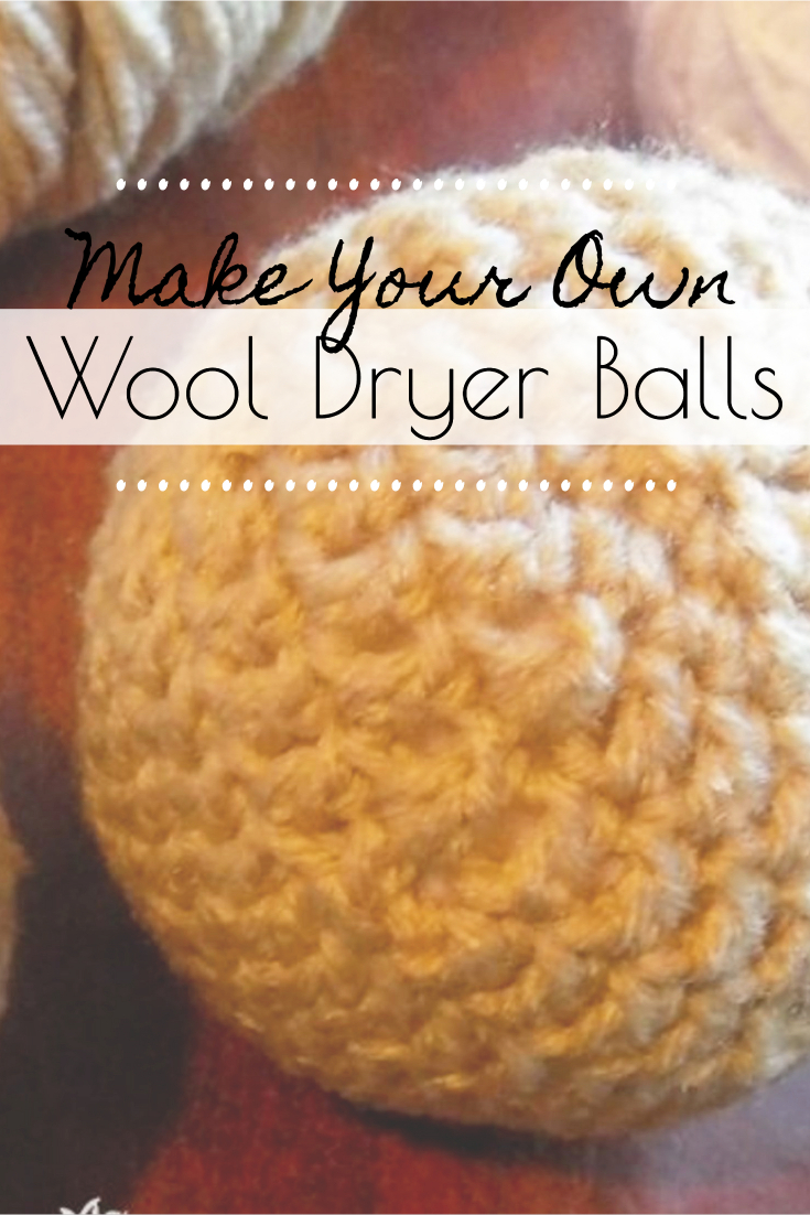 Dryer balls are a great way to save money and cut back on chemicals in your home, learn how to make the best wool dryer balls with this free crochet pattern. #dryerballs #wooldryerballs #diy #crochet #makeyourown