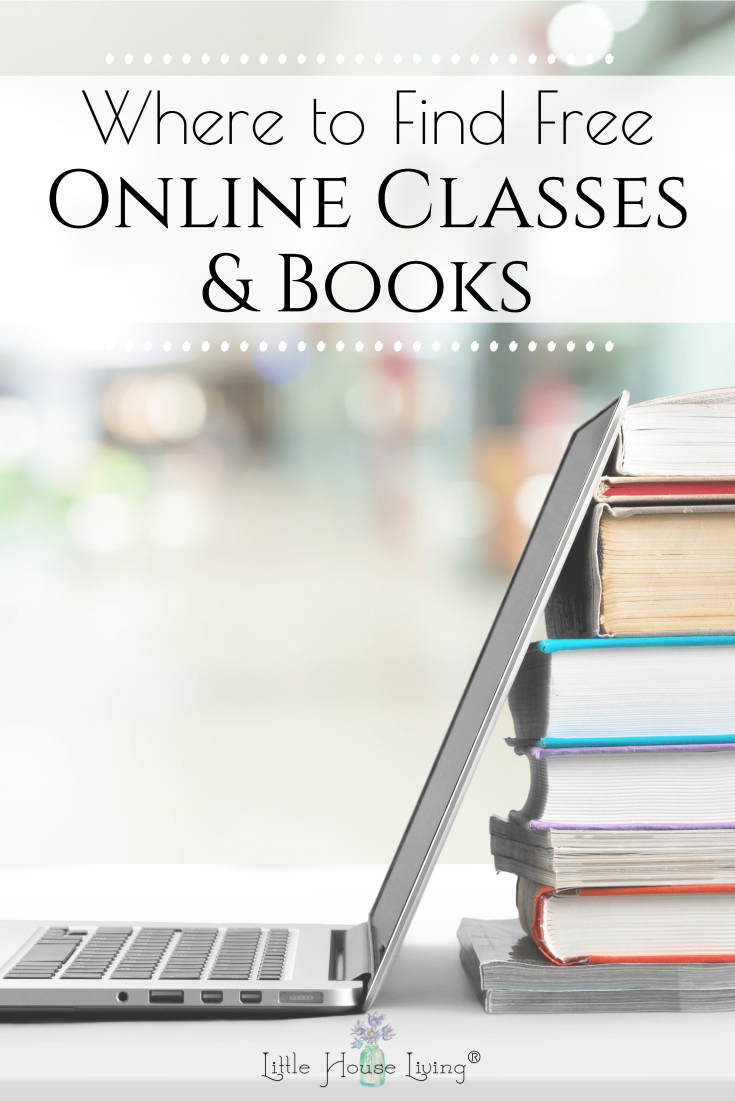 Looking for something new to do for a while? There are plenty of free online classes and books that can be found! Today I'm sharing some favorites that I've found.