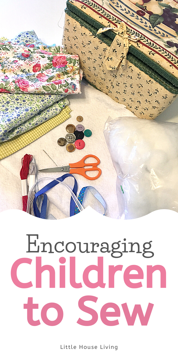 Have you been wanting to encourage your child to start sewing? Here are some tips and advice on introducing your child to sewing!