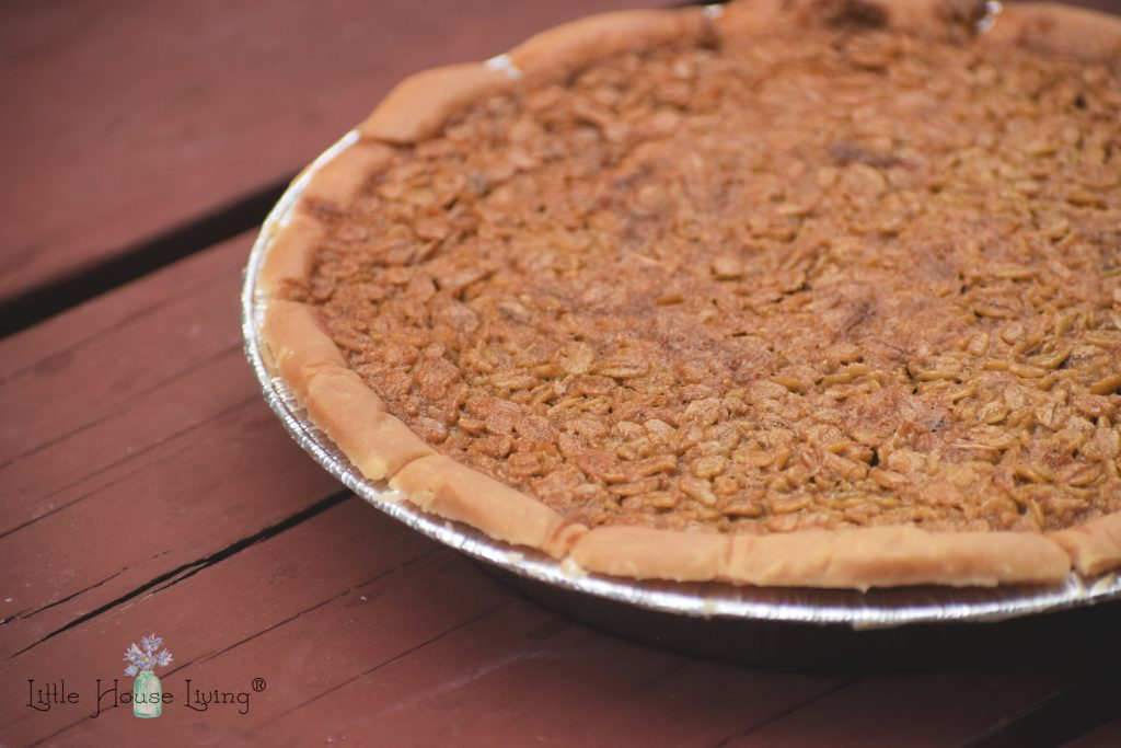 Amish Oatmeal Pie Recipe