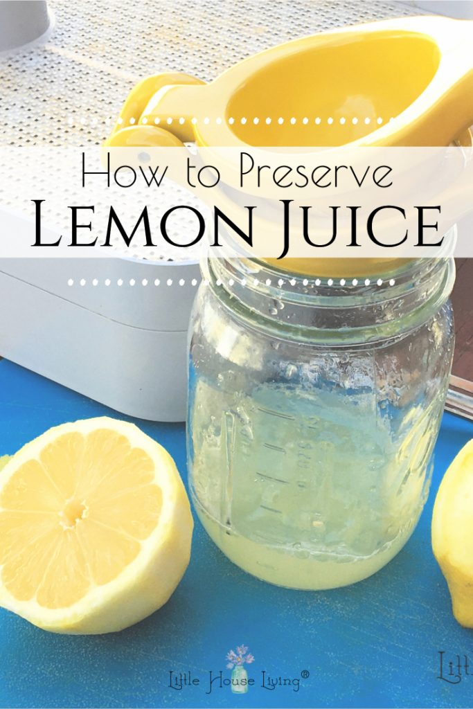 Do you have some extra lemons or did you find a great deal on lemons so you stocked up and now you aren't sure how to use them all before they go bad? Here's how to preserve lemon juice and lemon peels to enjoy the lemons as long as possible!