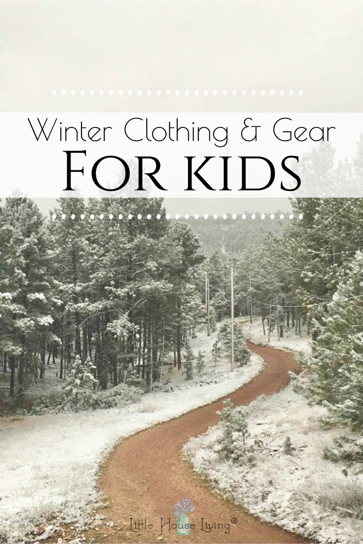 Are you beginning to plan out your winter? Today I'm sharing what clothing and gear kids need for a long winter.