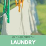 My Year Round Laundry Routine
