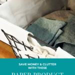 Been wanting to save more money and have to buy fewer things when you go to the store? Today I'm sharing some of the paper product swaps that we've made and you can try!