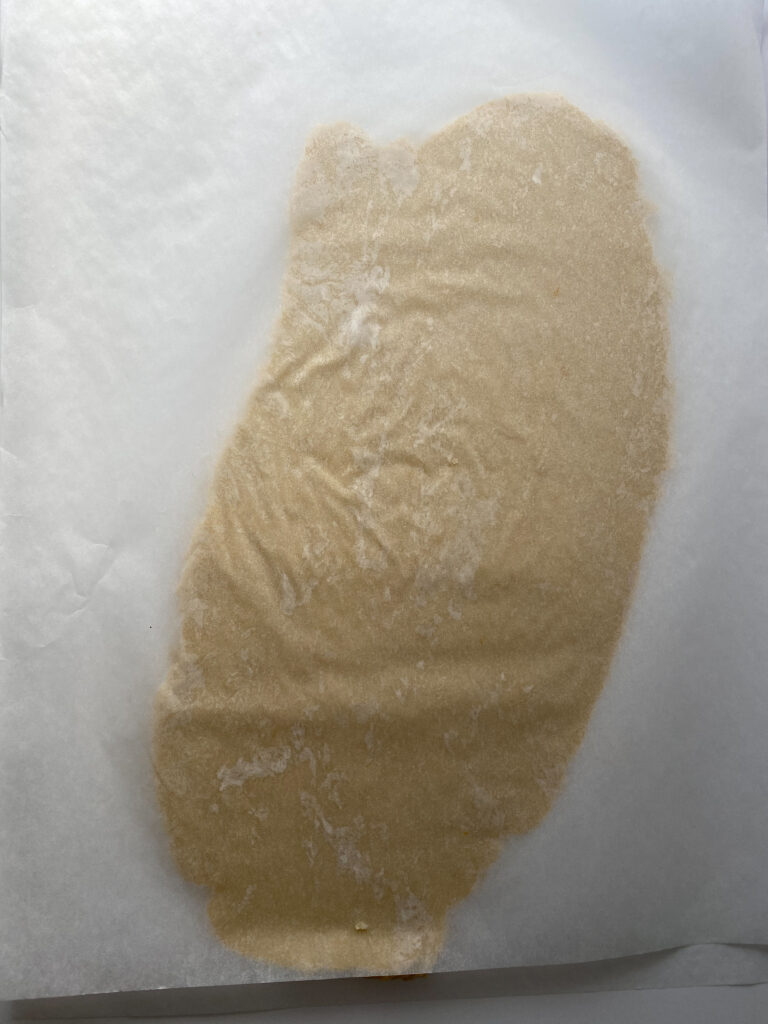 Batter Rolled Out