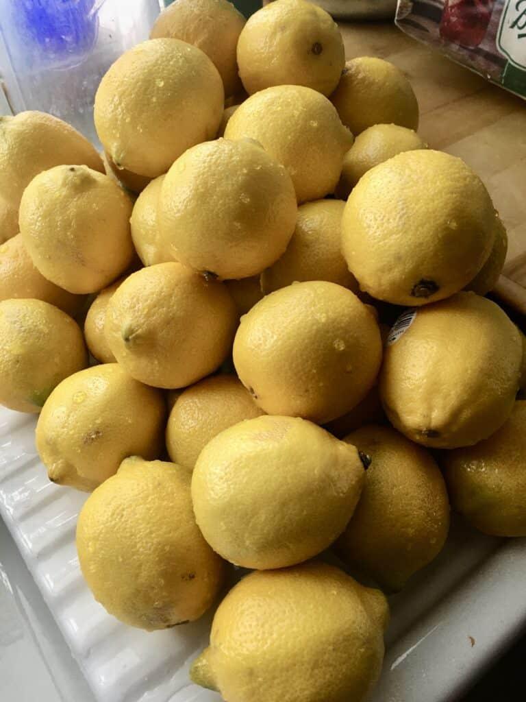 Washed Lemons