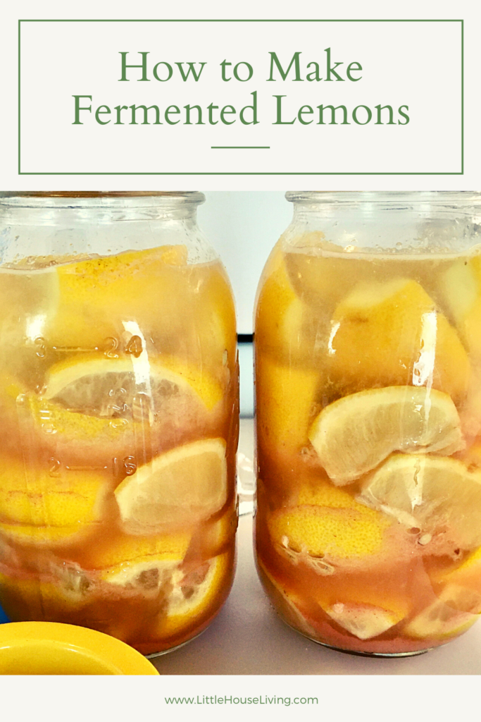 Want to keep some lemons around for as long as you can without taking up freezer space? These Fermented Lemons are crazy easy to make and they add a delightful flavor to many different dishes!