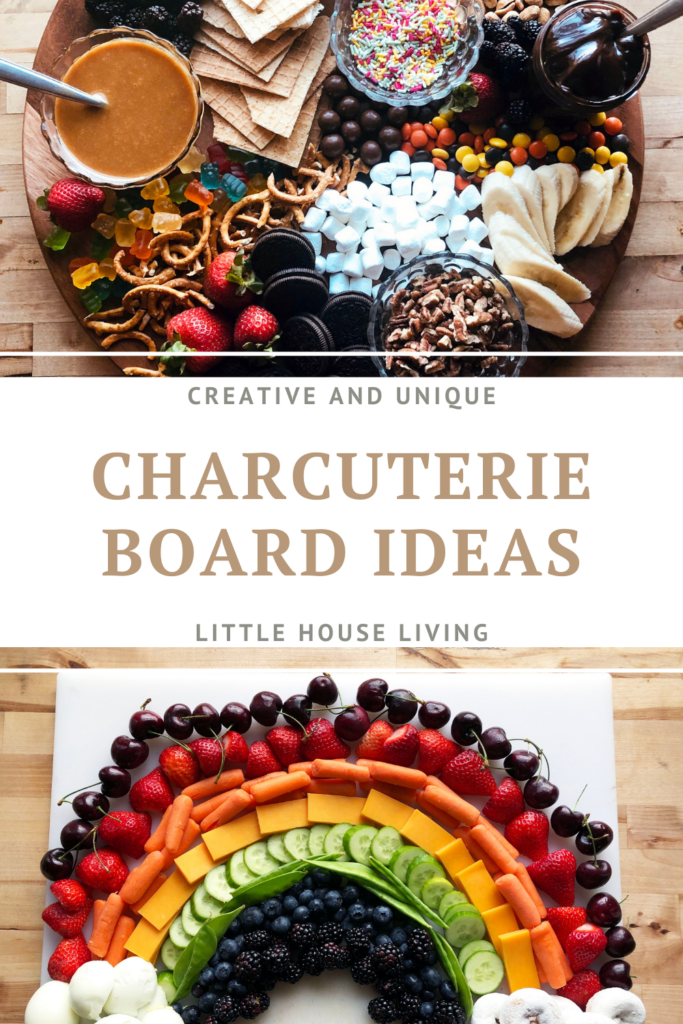 """Need some new meal ideas or are you looking for something a little more """"upscale"""" to serve for upcoming get-together meals? Here are some simple but unique charcuterie board ideas."""
