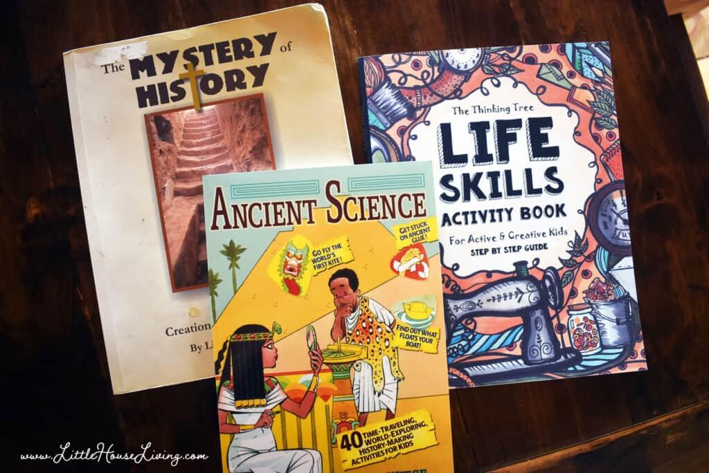 Extra Homeschooling Books